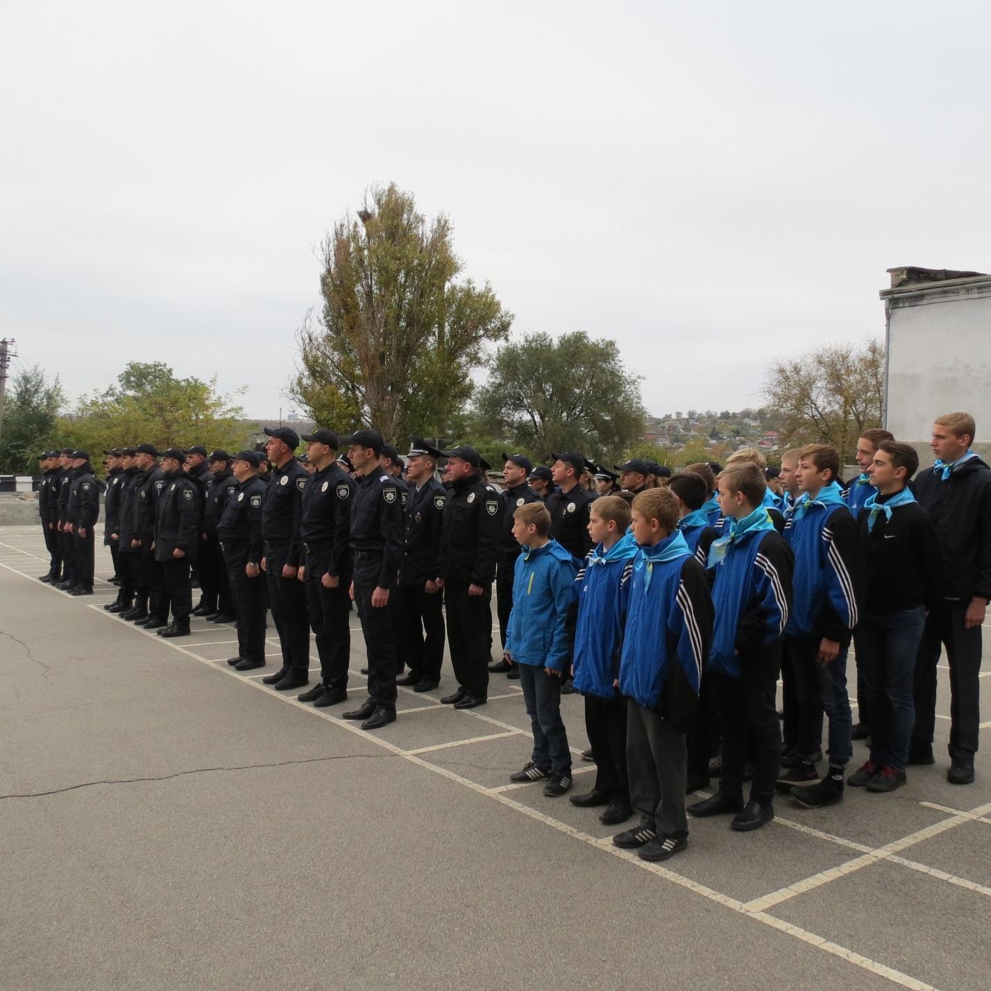 Сьогодні школярі, завтра – поліцейські!