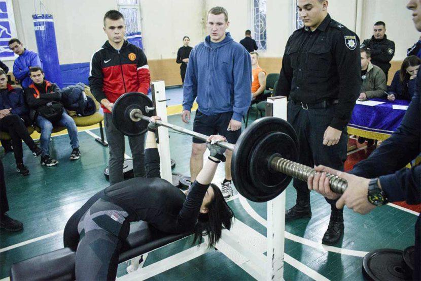 Чемпіонат ДДУВС зі жиму штанги