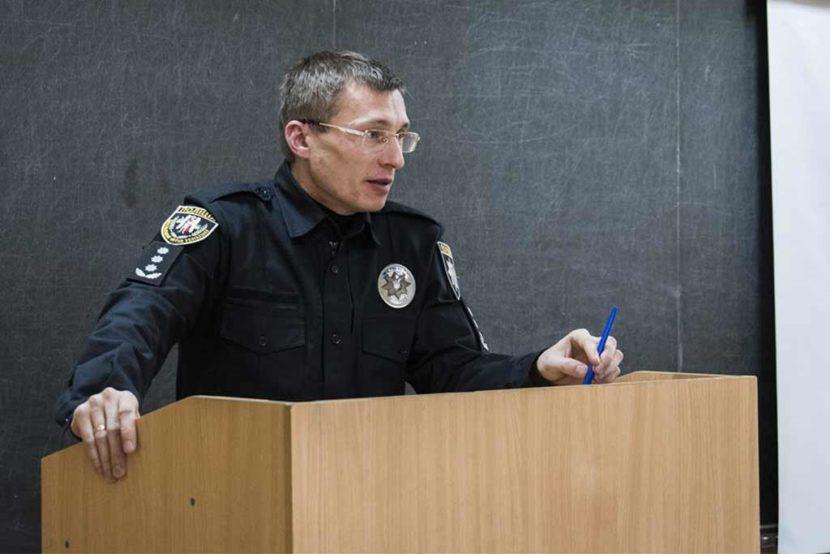 Начальник Управління дільничних офіцерів поліції Департаменту превентивної діяльності Національної поліції України Сергій Альошкін