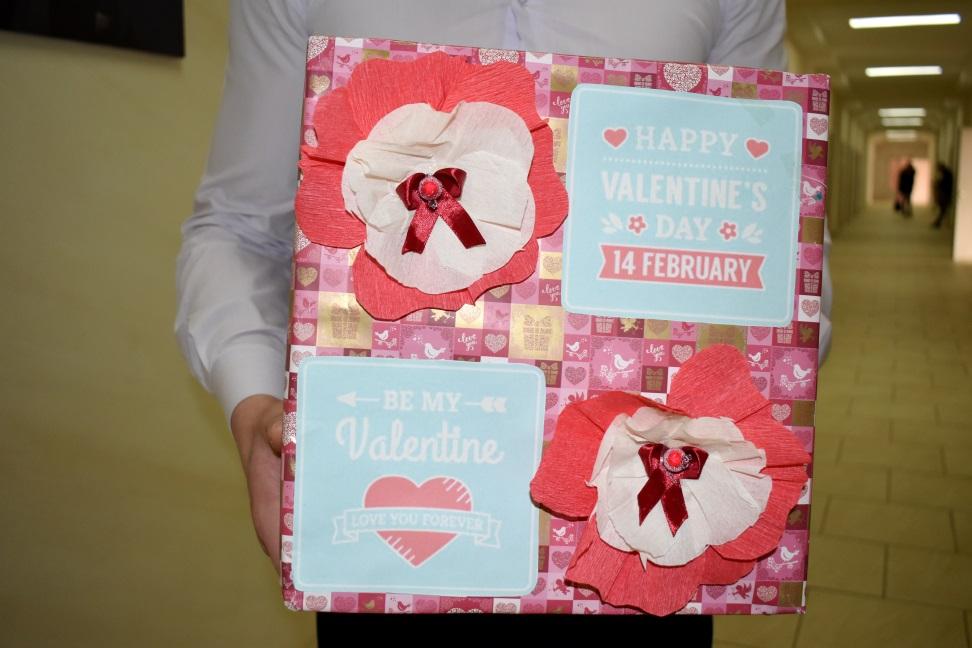 У День Святого Валентина у ДДУВС запрацювала «Пошта кохання»