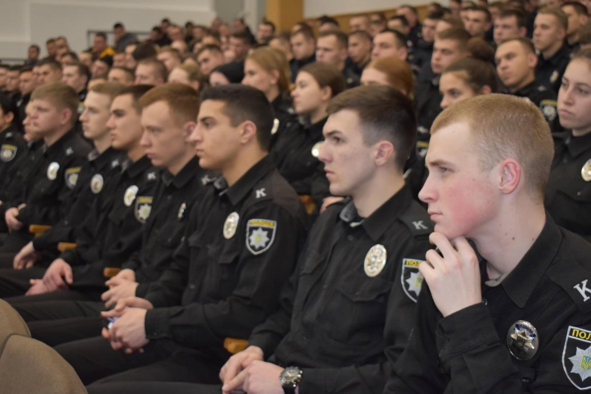 Курсантам розповіли про значення кримінального аналізу в діяльності Національної поліції України