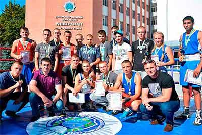 Відкрита першість міста Дніпро з боксу в ДДУВС