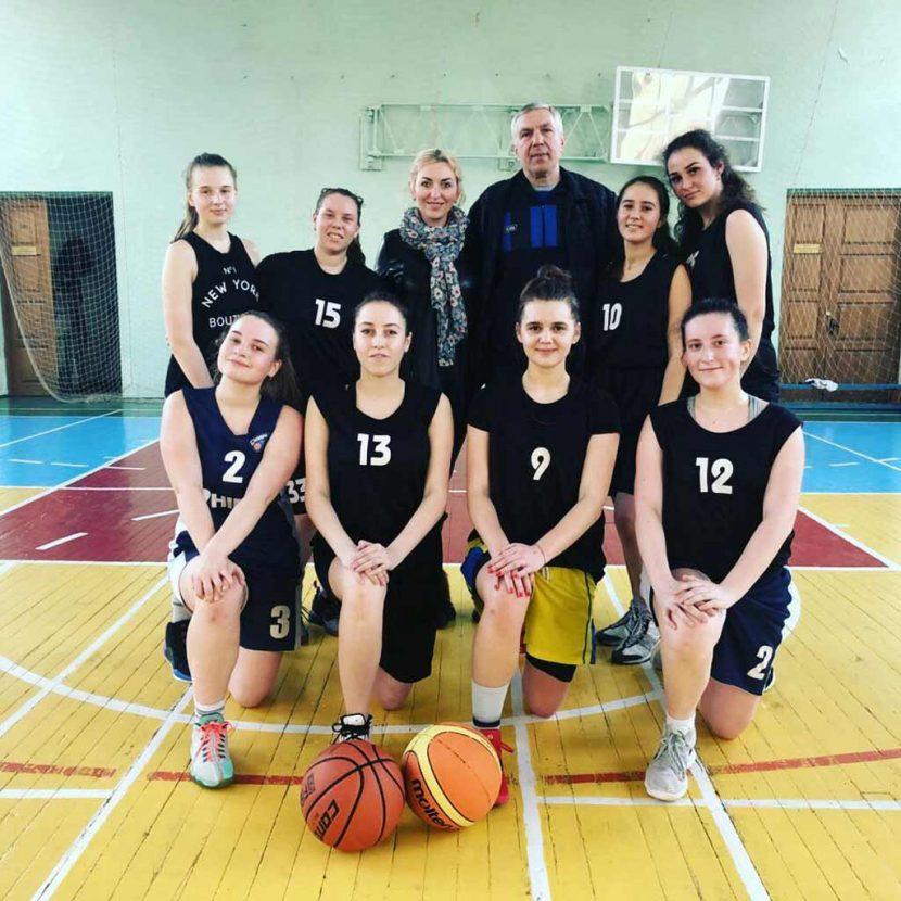 Обласні змагання з баскетболу: перемога на рахунку жіночої збірної ДДУВС