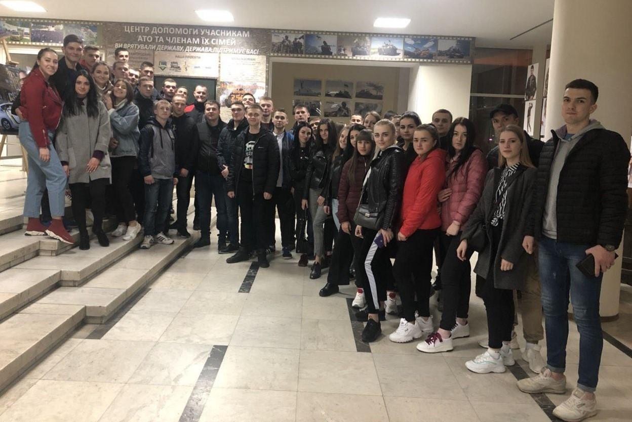 Курсанти ДДУВС відвідали прем'єрний показ ексклюзивного фільму про Дніпропетровщину