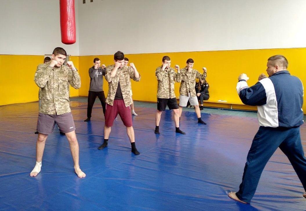 Курсанти ДДУВС відкрили для себе новий вид бойових мистецтв