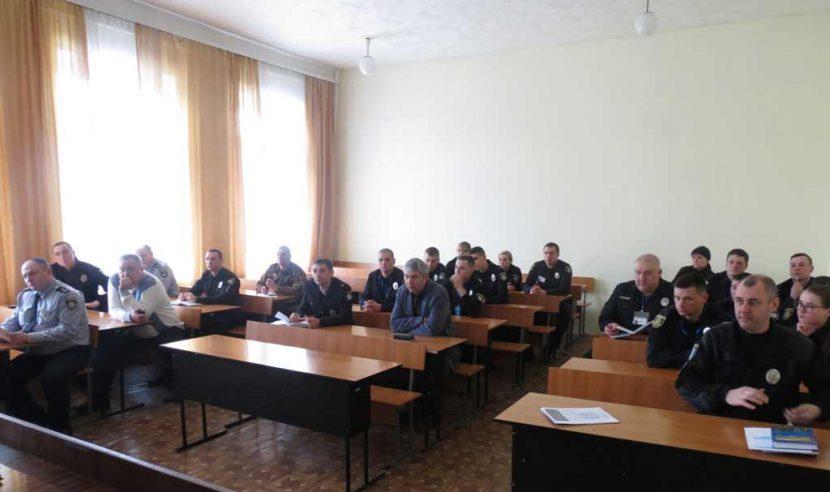 Про особливості служби на виборчих дільницях: в «Академії поліції» інструктивна нарада