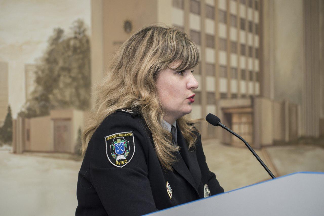 Курсантам ДДУВС розповіли про напрям спільної діяльності дільничних поліцейських та шерифів-добровольців