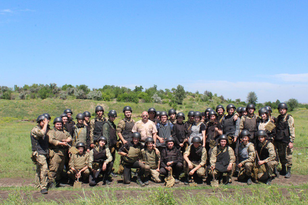 Комплексні заняття на полігоні Нацгвардії України - випробування для справжніх чоловіків