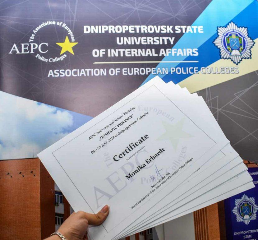 Тренінг від AEPC: визначали перспективні формати протидії побутовому насиллю