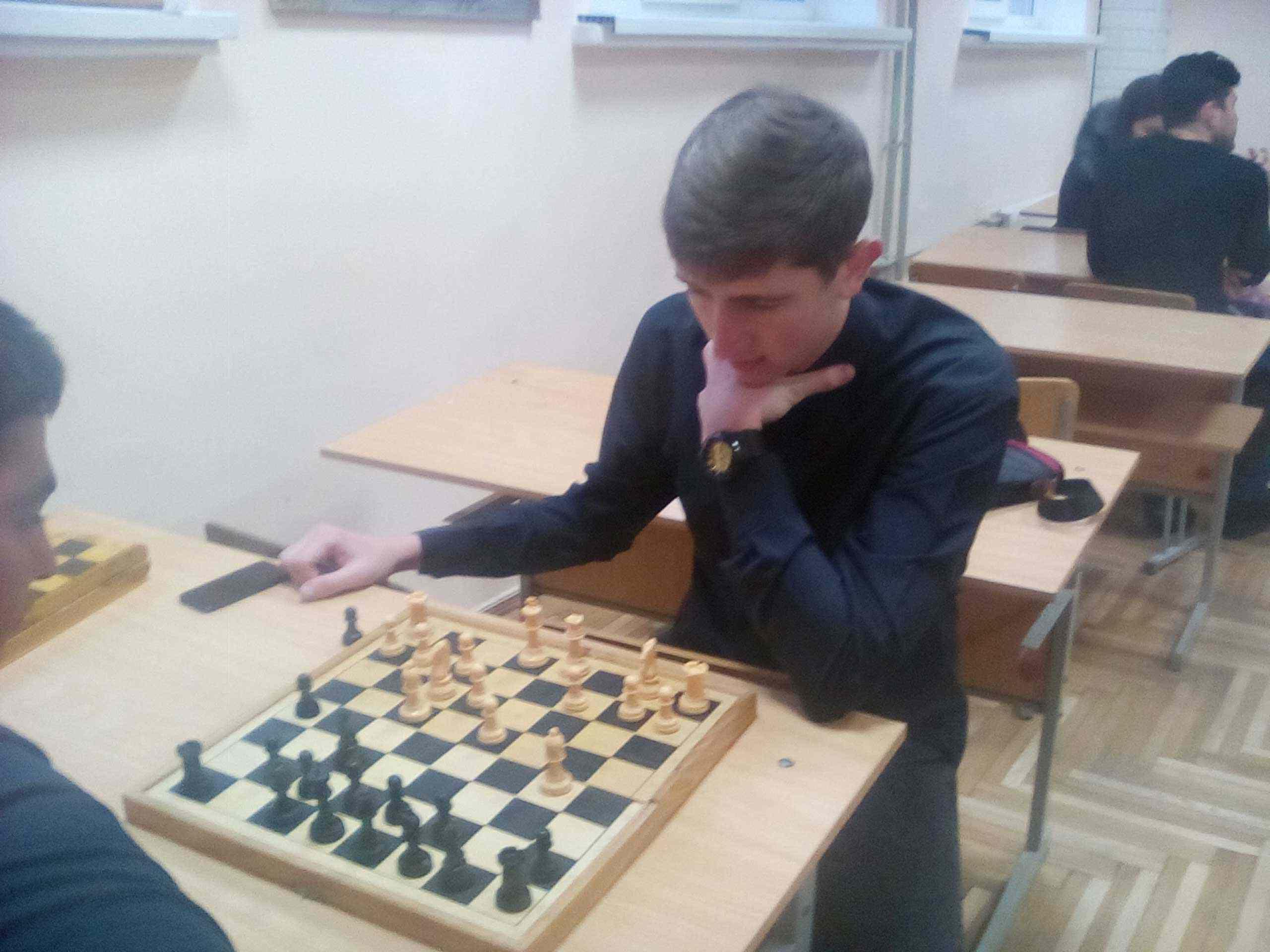 В університеті пройшла першість юридичного факультету з шахів