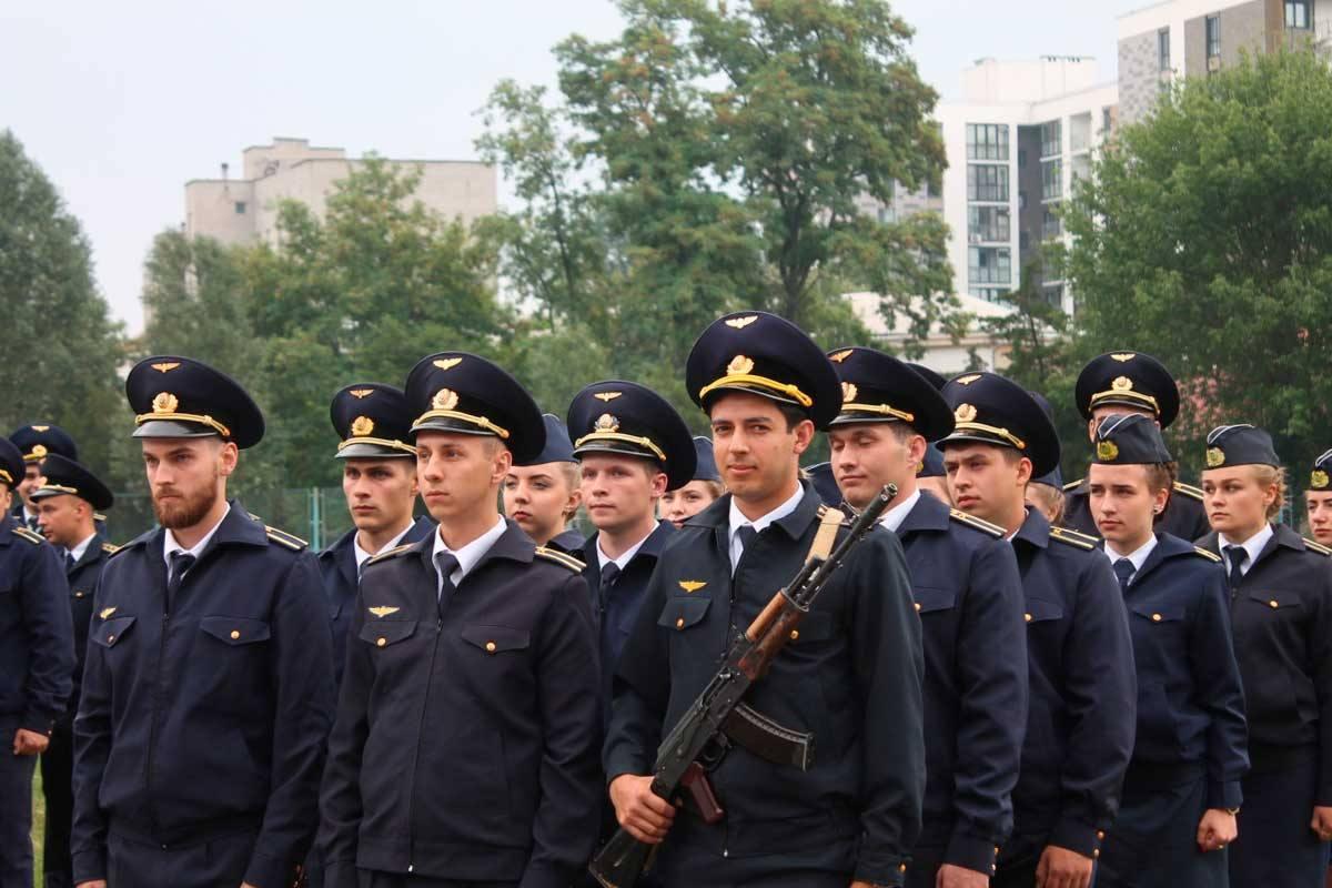 Студенти університету склали Військову присягу