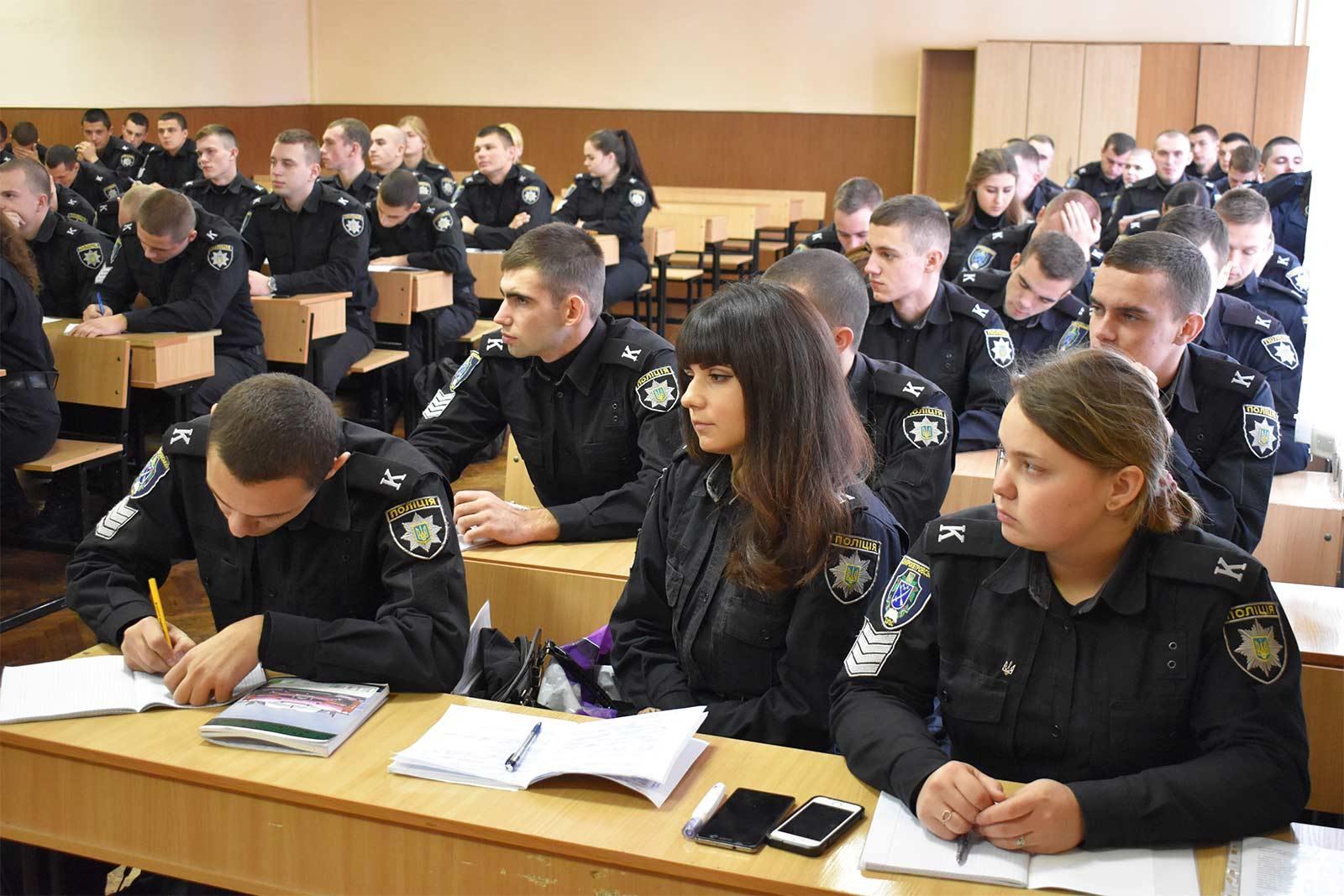 Зустрічі курсантів із працівниками практичних підрозділів ОВС.