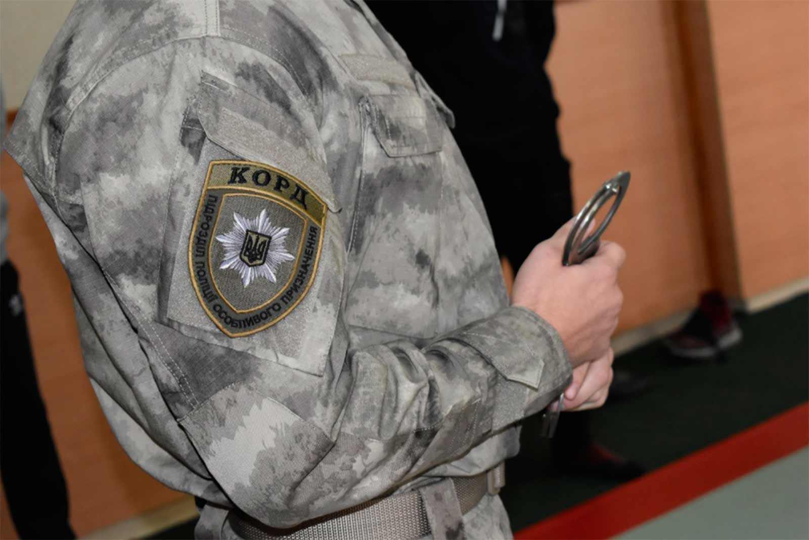 КОРДівці вчили курсантів діяти в екстремальних ситуаціях