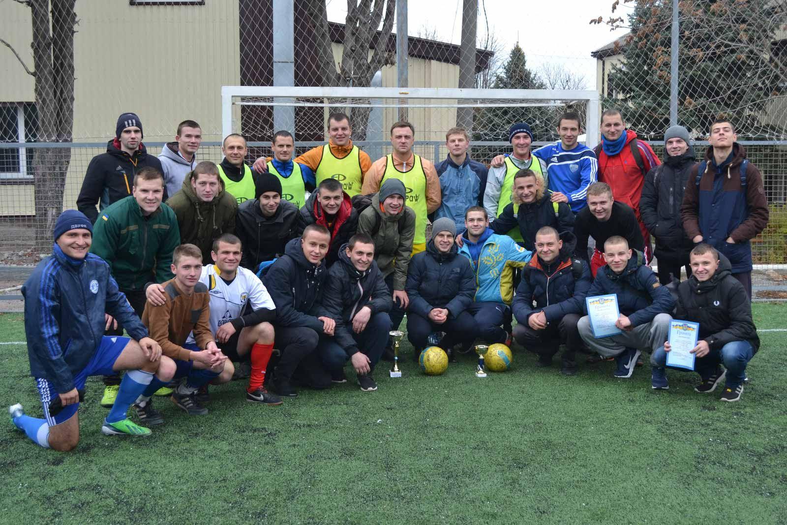На факультеті підготовки фахівців для підрозділів кримінальної поліції визначили кращу збірну команду з футболу