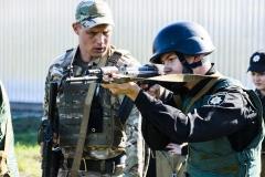Курсанти ДДУВС брали участь у комплексних заняттях на полігоні.