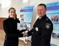 По закінченні тренінгу його учасники отримали відповідні сертифікати