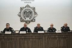 Голова Національної поліції України Сергій Князєв поспілкувався з курсантами вишу.