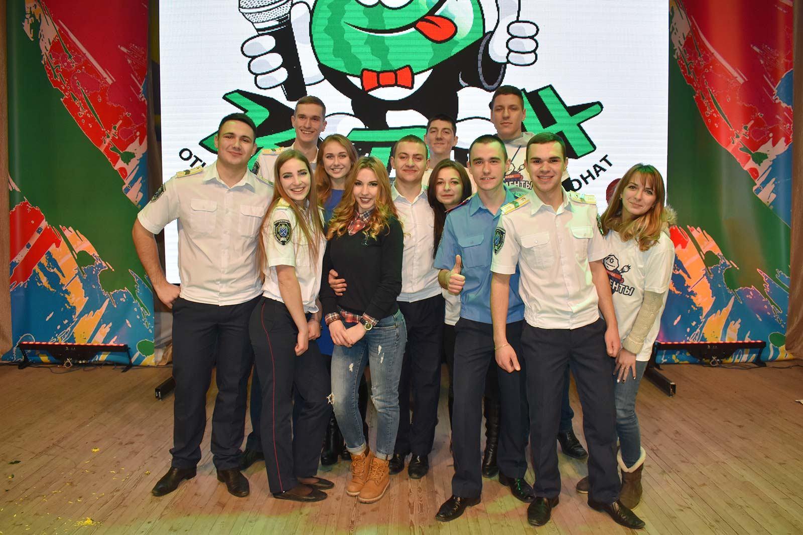 Команда університету «Poliменти» на чемпіонаті КВК «КаВуН-2016»