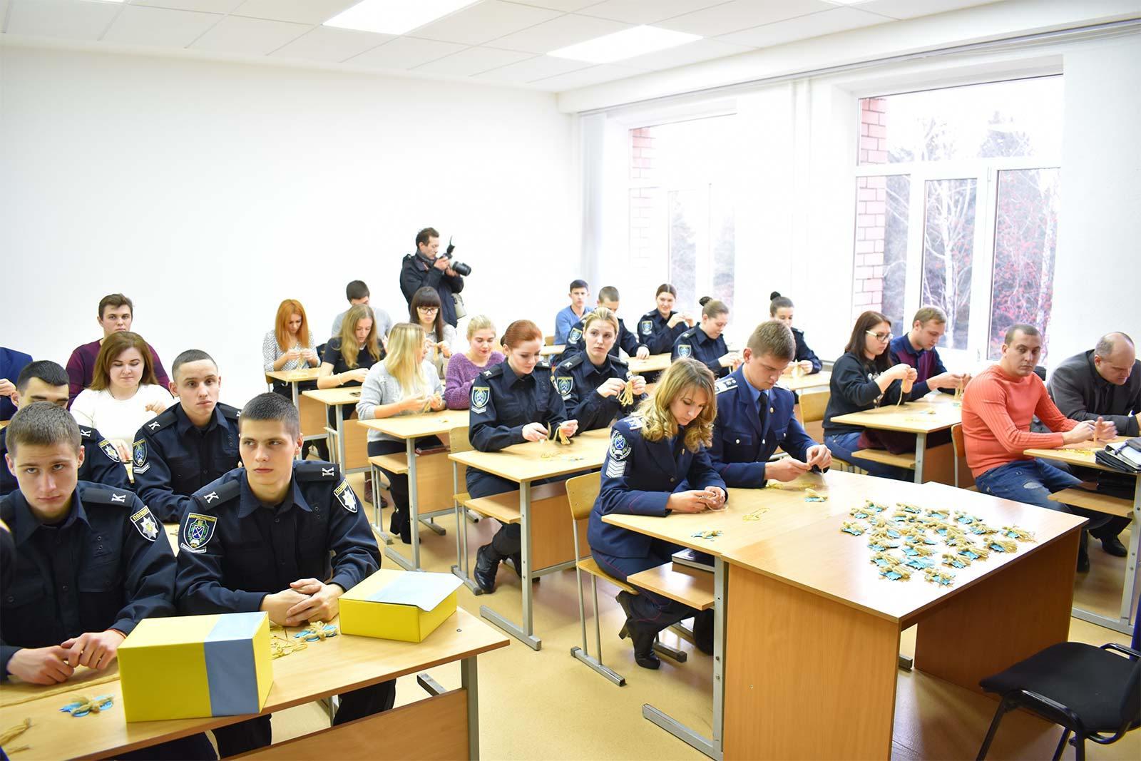 Викладачі, студенти та курсанти Дніпропетровського державного університету внутрішніх справ