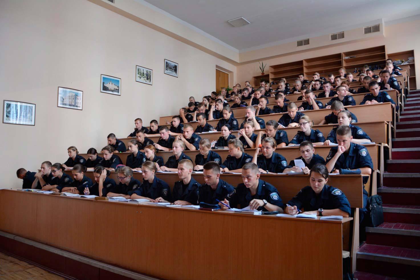 250 новобранців Дніпропетровського державного університету внутрішніх справ