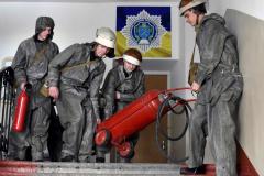 У ДДУВС гасили умовну пожежу.