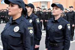 У Дніпрі нові патрульні склали присягу.