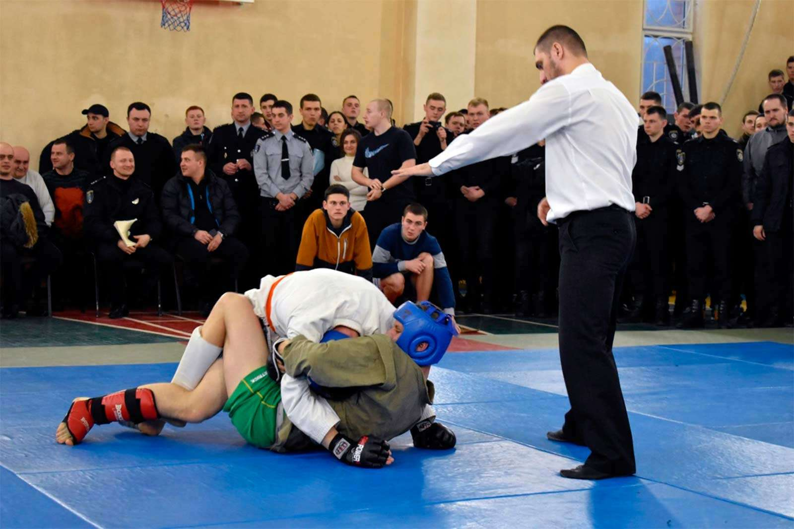 Змагання з рукопашного бою зібрали рекордну кількість учасників