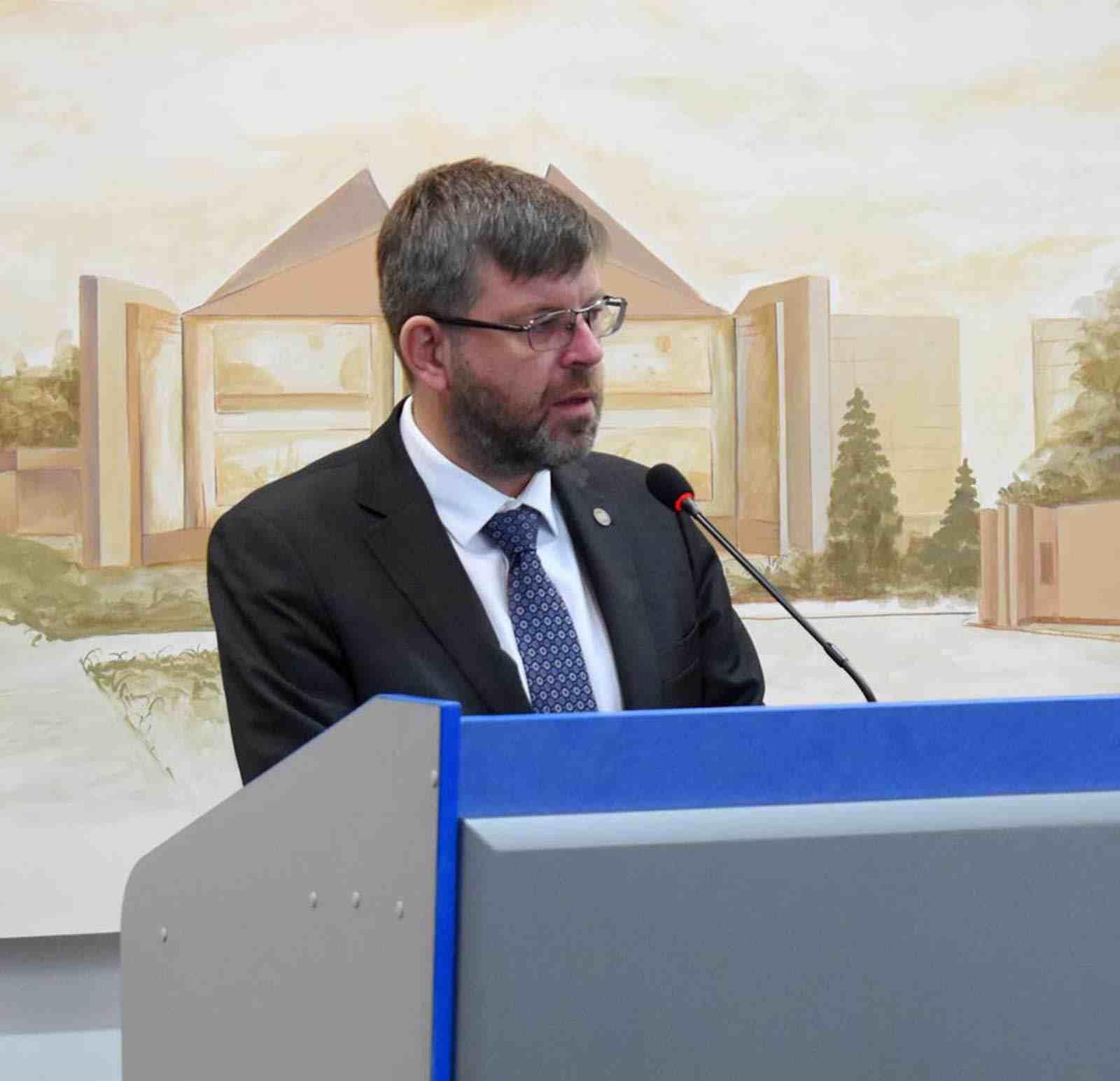 Надзвичайний і Повноважний Посол Литовської Республіки в Україні Марюс Януконіс