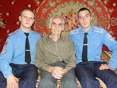 Курсанти відвідали ветеранів навчального закладу