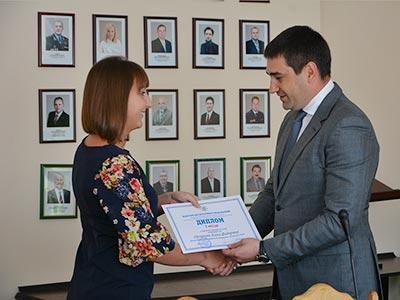 Курсанти, студенти та слухачі Дніпропетровського державного університету внутрішніх справ