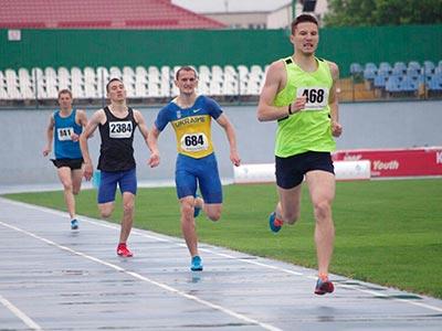 На міських змаганнях з легкої атлетики курсант ДДУВС фінішував першим