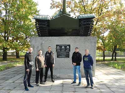 Курсанти відвідали селища Черкаське та Гвардійське – осередки військової звитяги