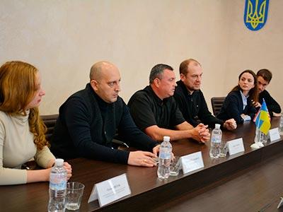 До університету завітала делегація Регіонального програмного офісу Департаменту юстиції США (ICITAP)