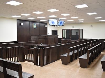 У Дніпропетровському державному університеті внутрішніх справ відкрили новітню залу судових засідань модернізовану за сучасними стандартами