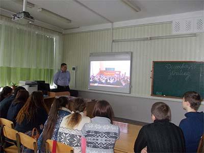 Викладачі ДДУВС проводять бінарні заняття на тему «Школа і поліція»у школах Дніпропетровщини