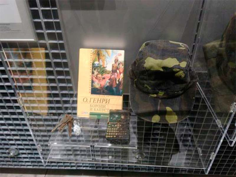 Курсанти ДДУВС познайомились із внутрішньою експозицією першого в Україні музею Антитерористичної операції на Сході країни