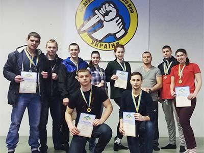 З Чемпіонату області з рукопашного бою курсанти ДДУВС