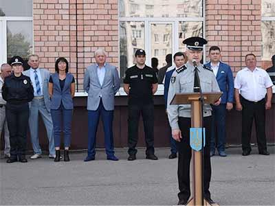 Перший випуск слухачів Запорізького центру первинної професійної підготовки «Академія поліції»