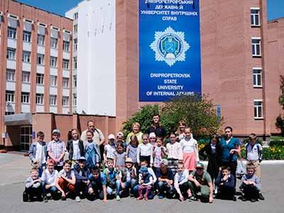 Напередодні Міжнародного Дня захисту дітей в університет завітали школярі