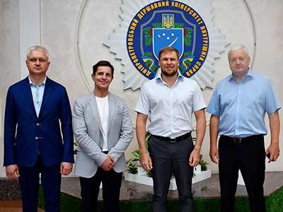 Представники Міністерства внутрішніх справ України завітали до університету