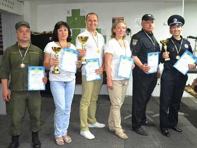 Університетська збірна – чемпіон Дніпропетровщини з кульової стрільби