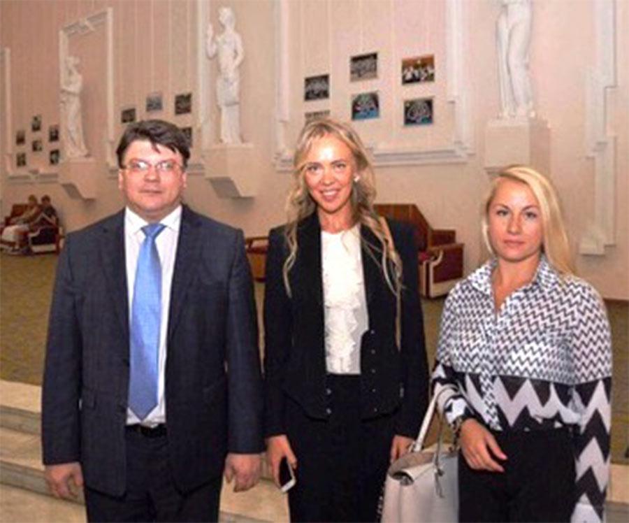 Відкривав міжнародний захід Міністр молоді та спорту України Ігор Жданов.