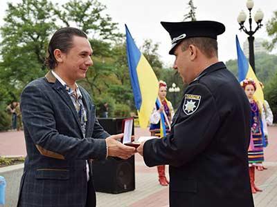 З нагоди Дня незалежності України колектив ДДУВС нагороджений