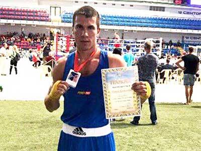Курсант університету – чемпіон України з боксу
