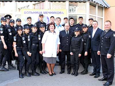 Близько 60 курсантів ДДУВС долучилися до акції «Подаруй життя герою»
