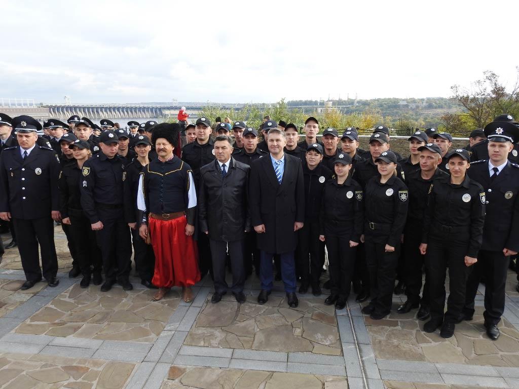 Урочиста церемонія складання Присяги відбулась і на острові Хортиця.