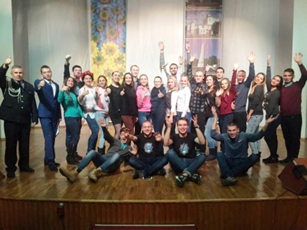 Курсанти та студенти Дніпропетровського державного університету внутрішніх справ