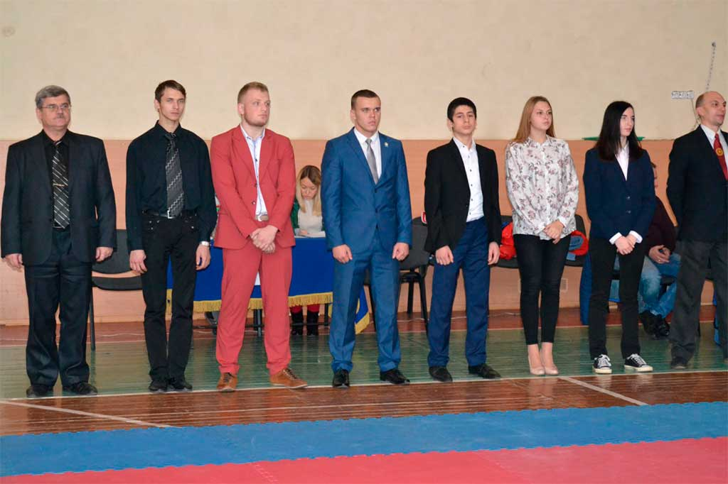 На Криворізькому факультеті пройшли змагання з рукопашного бою на кубок декана