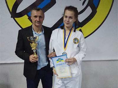Галина Волошина – курсантка, спортсменка та рукодільниця