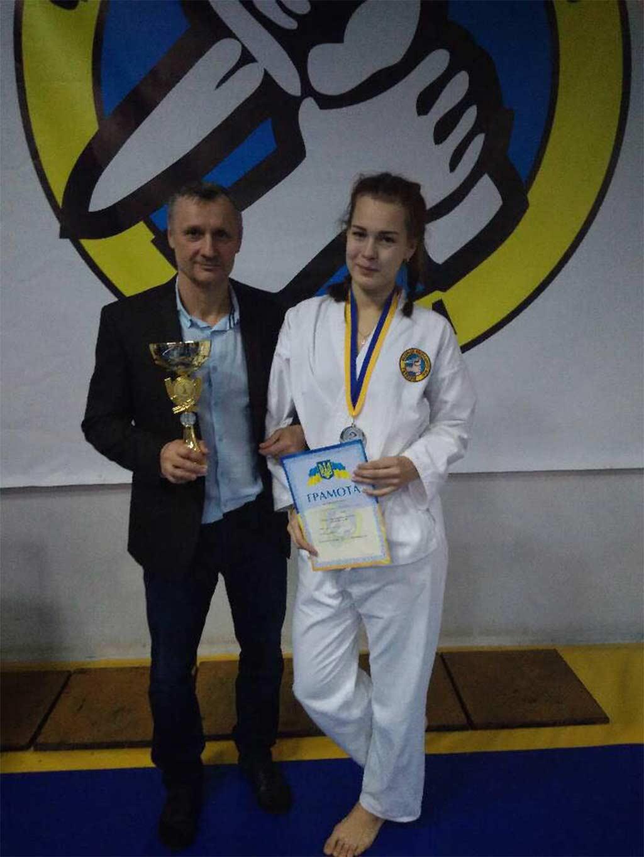 Галина Волошина нещодавно отримала звання кандидат у майстри спорту